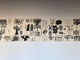 「樹々あそぶ庭々」作品